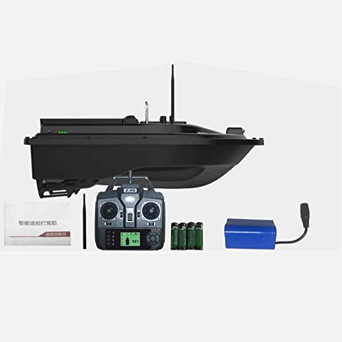 APROTII GPS version Bait Boat,RC Fishing Boat,500M Remote Control Boat,Wireless Fishing Lure Bait Boat Fish Finder
