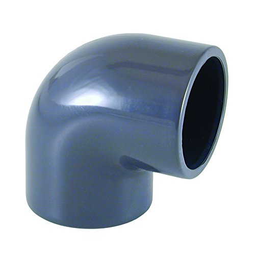 PVC - U 90° Winkel Muffe 40 mm PN16