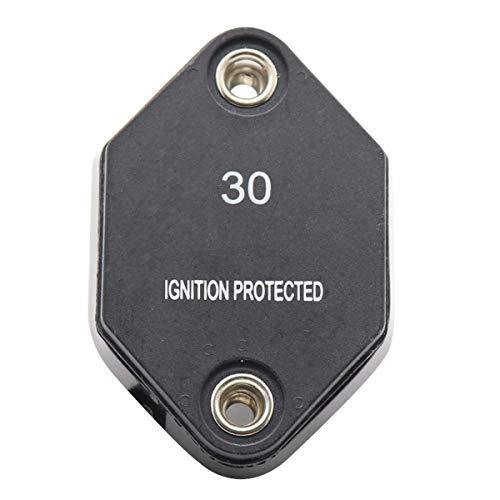 Yunnyp Yunnyp-Leistungsschalter-Schutz, 12V-32V 20A / 30A / 40A Ampere-Selbstrückstellleistungsschalter-wasserdichter Sicherungs-Inverter für Auto-LKW-Marineanhänger-Platten-Berg