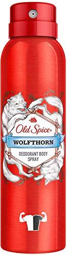 3 x Old Spice Wolfthorn Deodorant Bodyspray für Männer je 150ml for man Deo