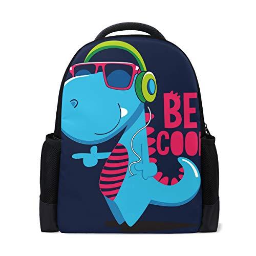 Cool Dinosaur Zaino per computer portatile scuola zaino casual da viaggio