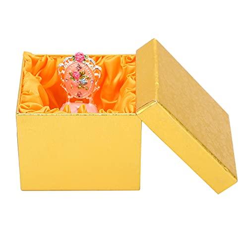 Organizador de la joyería del viaje, joyero portátil de la caja de la baratija de la joyería para el partido para el hogar