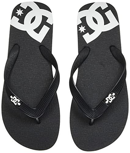 DC Shoes Spray-Sandalen für Jungen Flip-Flop, BLACK/WHITE, 28 EU
