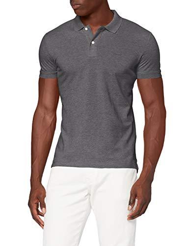 Esprit 060EE2K310 Camisa de Polo, 024/gris Oscuro 5, S para Hombre