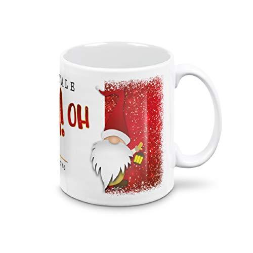 Taza Mug – Elfo OH OH OH OH Feliz Navidad – Regalos Económicos – Tazas de desayuno – Con caja blanca (Elfo OH OH OH Feliz Navidad)