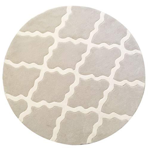 JIE KE Europese Amerikaanse Plaid IKEA ronde tapijt woonkamer salontafel slaapkamer studie nieuwe Chinese Scandinavische mediterrane tapijt