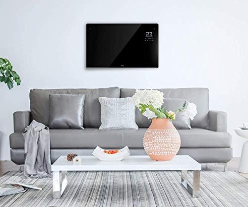 Wärme Designer WiFi Electric Wall Heater Panel Heater Radiator – Ultra Slim (8cm) – 2Kw – Programmable Digital…