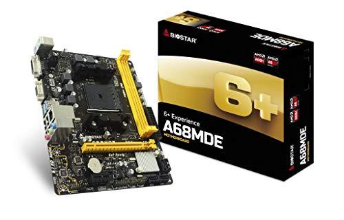 Biostar A68MDE moederbord socket FM2+ AMD A68H Micro ATX - moederboards (50/60, DIMM, dual, 32 GB, AMD)