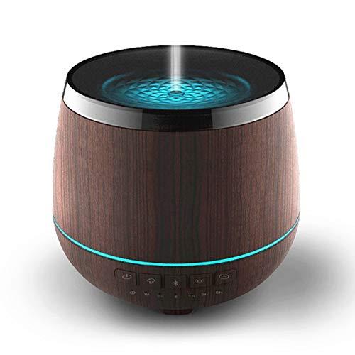 TYWZF Difusor De Aire Humidificador Bluetooth Altavoz Aceite Esencial 200Ml Aromaterapia Estudio Yoga SPA Oficina Dormitorio