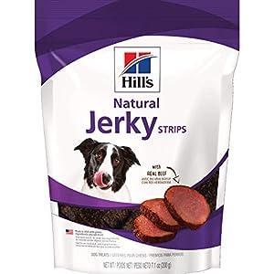 Hill's Dog Treats, Jerky Strips, Healthy Dog Snacks, Beef Jerky, 7.1-Ounce