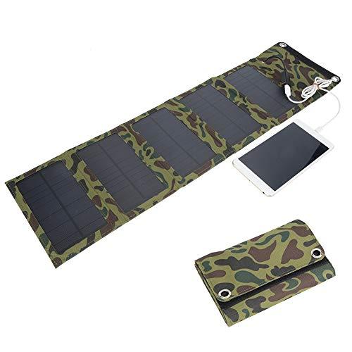 dgtrhted Salida USB Plegable Impermeable del Panel Solar del Viaje al Aire Libre 10W Carga de Emergencia