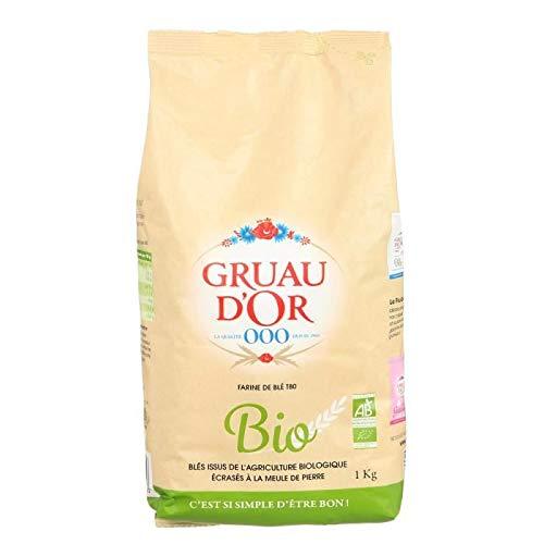 GRUAU DOR Farine de blé T 80 bio - 1 kg