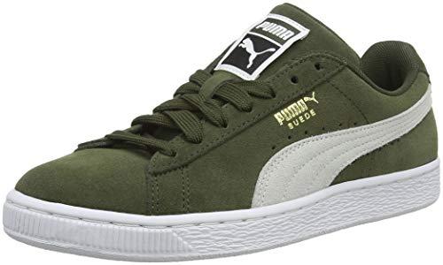 Puma Suede Classic, Sneaker Basse Unisex – Adulto, Verde (Forest Night White 33), 36 EU