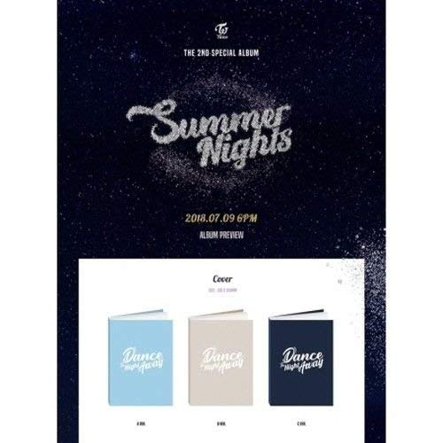 Twice - [Summer Nights] 2nd Special Album Random CD+1p Poster(On)+Photobook+6PhotoCard+2p Post+extra Photocards Set K-POP Sealed