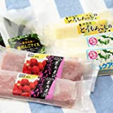 アイス詰め合わせ 4種各2個入り(越後姫/とうもろこし/ミルク/笹団子) サンエツフーズ株式会社