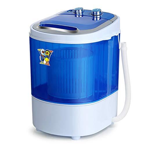 piccola lavatrice e asciugatrice 3,5kg Grande Capacità PP Lavatrice Plastica, Canna Singola 170W Lavatrice For Uso Domestico, Blu 220V Lavatrice Tensione Nominale lavatrice carica dall alto