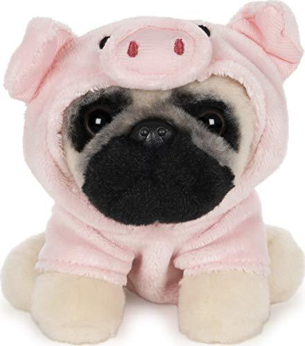 "GUND Doug The Pug Pig Dog Stuffed Animal Plush, 5"""