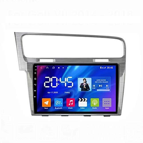 MIVPD Autoradio Android 10.0 Radio per Golf 7 2012-2020 Navigazione GPS unità Principale da 9 Pollici Touchscreen MP5 Lettore multimediale Ricevitore Video con 4G WiFi SWC Carplay