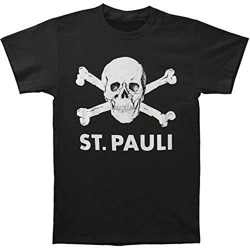 Camiseta gráfica Camiseta Divertida St. Pauli Skull Cool para Hombre