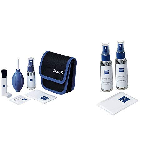 ZEISS Lens Cleaning Kit – Reinigungsset für Objektive, Filter, Brillengläser, Ferngläser und LCD-Displays &  Reinigungsspray für Objektive, Filter, Brillengläser, Ferngläser und LCD-Displays