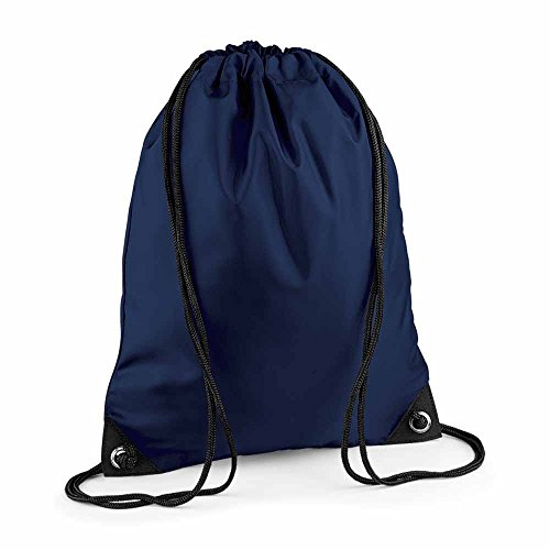 Bag Base - sac à dos à bretelles - gym - linge sale - chaussures - BG10 - bleu marine