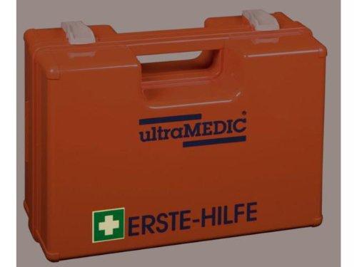 Erste-Hilfe-Koffer K´020 - fluoreszierendes Erste-Hilfe-Kreuz, Farbe orange ultraBox