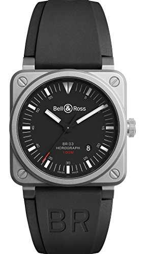 Mens Bell & Ross BR03-92 Horograph Watch