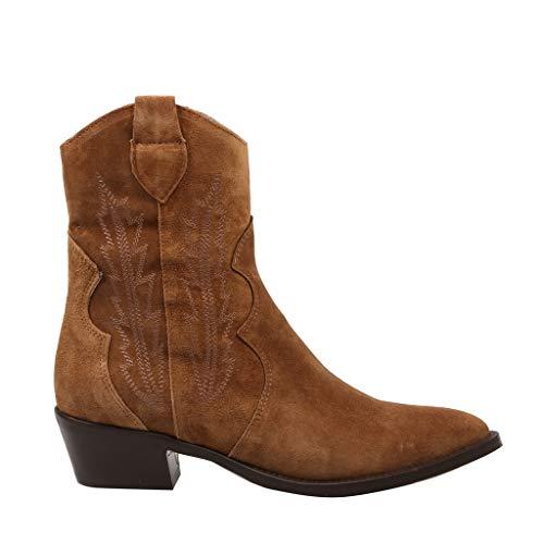 Alpe Woman Shoes Damen Stiefeletten Alpe Stiefelette 43741101 braun 760570