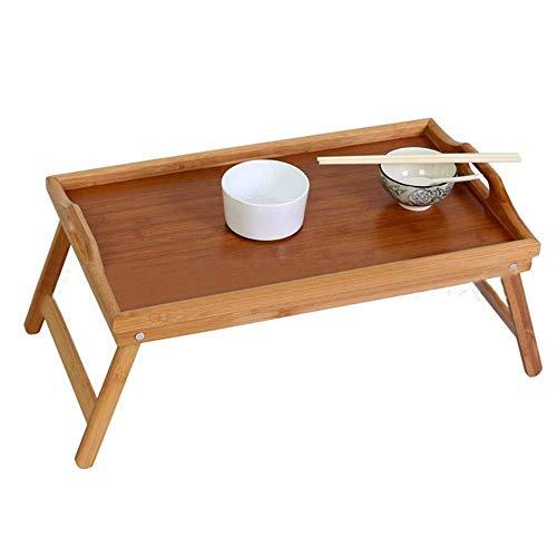 Grote Maat Laptop Tray Bureau, verstelbare Breakfast Serving Bed Tray Sofa lade, opvouwbare poten, for patiënten/kinderen, Boek dienblad met lezers, Study YCLIN