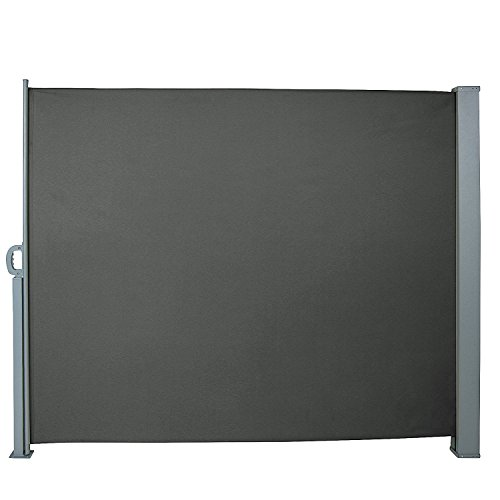 Jago Tenda Da Sole Laterale - Diversi Colori E Misure: 160X300Cm 180X300Cm 200X300Cm - Tenda Paravento Per Esterno, Protezione Da Sole Da Giardino, Tendalino Per Patio Terrazzo
