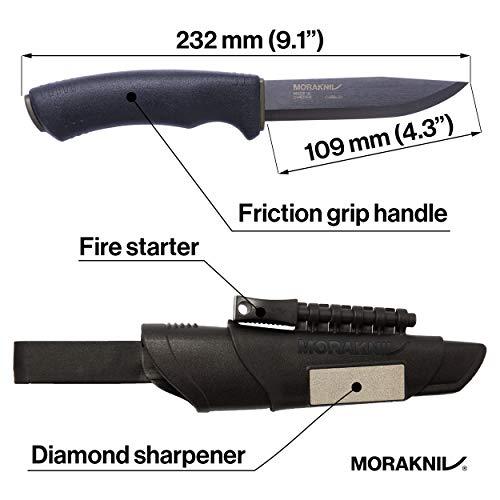 Morakniv(モーラナイフ)『ブッシュクラフトサバイバルブラック』