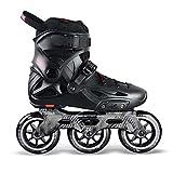 CHENGSYSTE Original PowerSlide i-mperial 3 * 110 mm Velocidad en línea Skates Street Adult Roller Patinaje Zapatos Patines Gratis Patines para Adultos by (Color : Black, Shoe Size : 45)