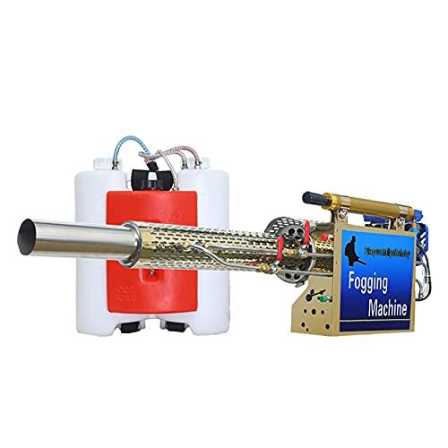 WANSE Nebulizzatore Termico a Getto di impulsi, nebulizzatore Termico Portatile per nebulizzatore con Serbatoio da 16 Litri Motore a 360 ° con Zaino Alimentato a Gas