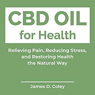 CBD Oil for Health audiobook cover art