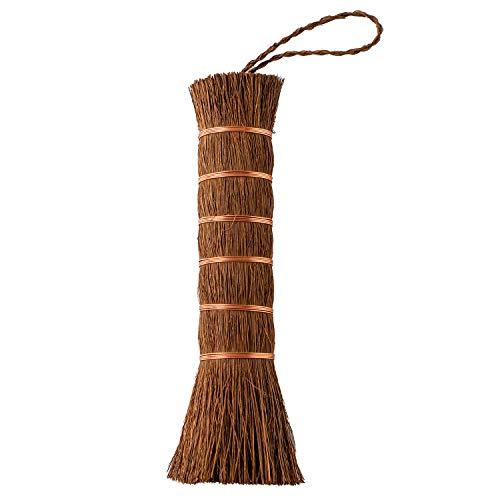 オカ(OKA) にぎり束子 棕櫚棒たわし (フライパン 清掃) ブラウン 約4cm×4cm×17cm 4971242952821