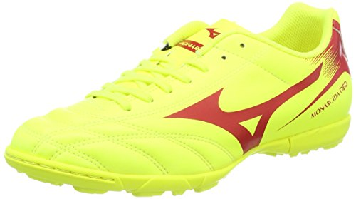 Mizuno Monarcida Neo As, Scarpe da Calcio Uomo, Giallo (SafetyYellow/Marsred), 40.5 EU