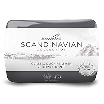 Snuggledown Scandinavian Duck Feather And Down Duvet - 13.5 Tog by Snuggledown
