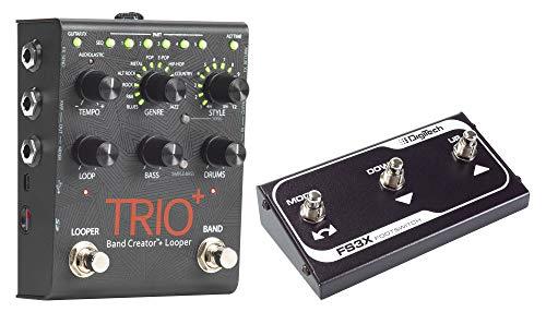 Digitech TRIO+ Band Creator Set mit FS3X Fußschalter