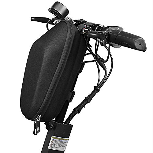 Chao Bike Handlebar Bags Electric Scooter Bag Waterproof Handlebar Bag,Large Capacity Front Tube Bag Storage Bag Suitable for Bicycles,Folding Bikes,Electric Scooters
