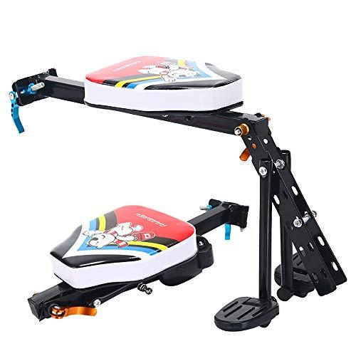 COKECO Kinderfahrradsitz Mountainbike Kindersitz vorne Klapprad Fahrrad Baby Sicherheitssitz Schnellverschluss zweite Demontage Kinder Kindersitze/fahrradsitz
