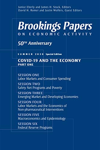 『Brookings Papers on Economic Activity: Summer 2020』のトップ画像