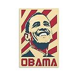 Barack Obama Kunst-Poster, dekoratives Gemälde, Leinwand,