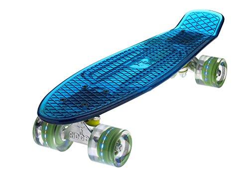 Ridge Skateboard Blaze Mini Cruiser , blau/multi, 55 cm