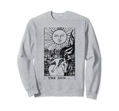 The Sun Vintage Tarot Card Inspired Sweatshirt