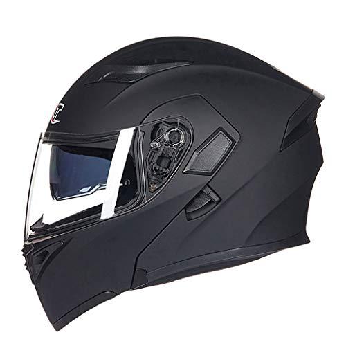 Casque moto hommes et femmes casque de moto anti-buée (Couleur : C-Xxl(62-63cm))