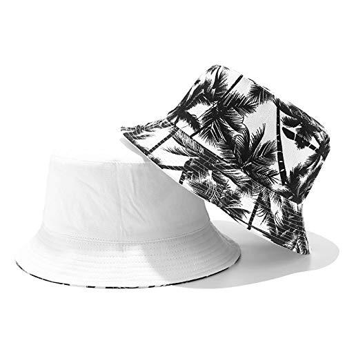 YUHOOE Cappello da Pescatore Tie-Dye Verde Reversibile Double-Face Cappelli da Pescatore Tinta Unita Cappellino da Spiaggia All'Aperto Cappellini da Pesca per Uomo Donna Adolescenti