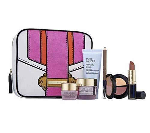Estee Lauder 6pcs Gift Set Tote Bag Skincare Makeup Resilience Multi-Effect