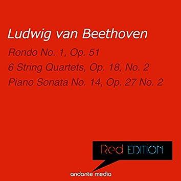 Red Edition - Beethoven: Rondo No. 1, Op. 51 & Piano Sonata No. 14, Op. 27 No. 2