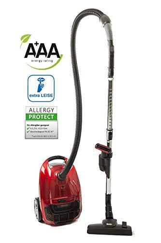 Fakir Artemis TS 250 Cat & Dog / Bodenstaubsauger mit Beutel, inkl. Turbobürste für Tierhaare, Allergiker-geeignet, Staubsauger sehr leise, Hochleistungsmotor, HEPA 13 Filter - 600 Wat