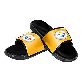 Pittsburgh Steelers NFL Mens Foam Sport Slide - M